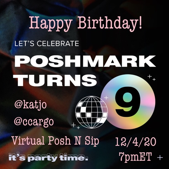 Poshmark Turns 9 Posh N Sip